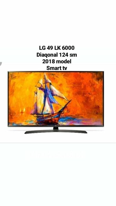 Bakı şəhərində LG 49 LK 6000 PLF .124 SM , SERİYA 6 , SMaRT TV Full HD Tv .Resmi