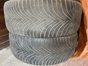 Шины и диски - Бишкек: Продаю резину пара 215/55/17
