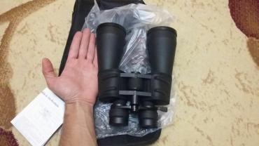 Binokllar Azərbaycanda: 20×60 Диаметр линз 60мм. Новые. Кратность приближения регулируешь
