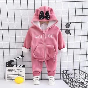 Ostala dečija odeća   Ruski Krstur: Mini maus trenerkice za uzrast od 1do2godine. Za hladnije dane. TOPLE