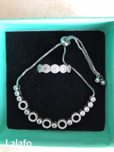 Продаю очень красивый комплект,серебро) в Бишкек