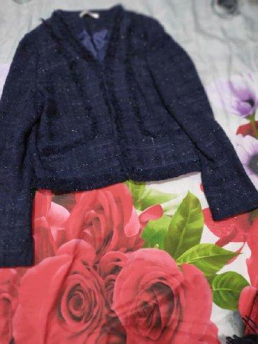 синий пиджак женский в Кыргызстан: ПРОДАЮ ЯПОНСКИЙ ТЕПЛЫЙ ПИДЖАК