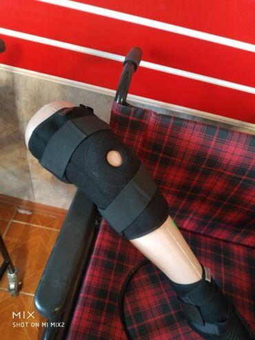 Медтовары - Кыргызстан: Фиксатор коленаБандаж коленаТкань гипоаллергенная, оснащён