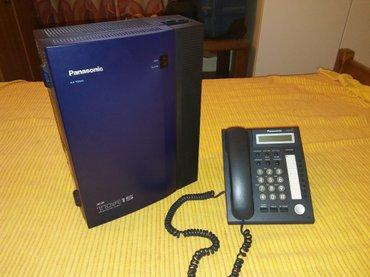 Panasonic tda15 τηλεφωνικό κέντρο με μια συσκευή dt321. χωρητικότητα 2
