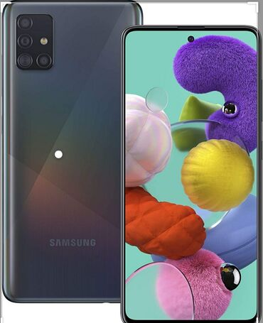 İşlənmiş Samsung A51 64 GB qara