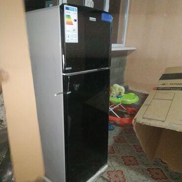 Новый Двухкамерный Черный холодильник Hisense