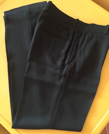 женские брюки дудочки в Азербайджан: Женские брюки, ZARA, в отличном состоянии, классические, тёмно-