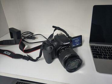 fotoaparat aksesuarlari - Azərbaycan: Teze model Canon 750d+18-55 lensFotoaparat ideal vəziyyətde hec bir