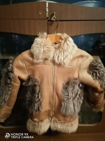 uşaq paltosu - Azərbaycan: Usaq paltosu(6yas) temiz deridi cox az geyinilib
