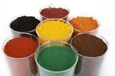 Пигмент красителя для пескаблокбрусчатки (мешок