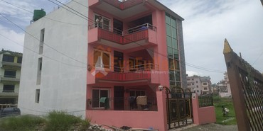A new strongly built beautiful house having land area 0-3-1-0 of 3 in Kathmandu