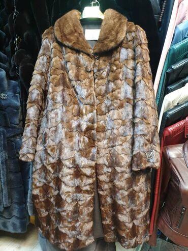 Женская одежда - Кыргызстан: РАСПРОДАЖА!! В связи переездом! Норковая шуба. 52 размер. Состояние