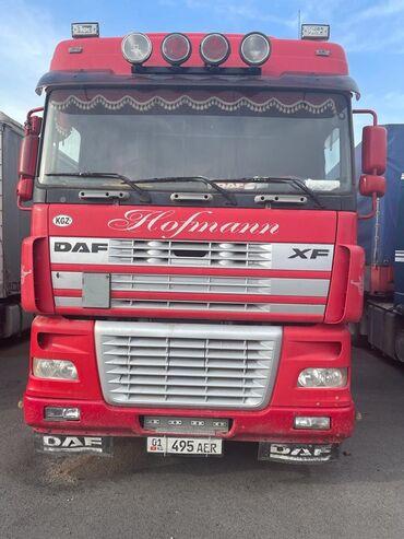 прицеп автомобильный в Кыргызстан: Продаю ДАФ 95 480 автомат ретардер год 2005 с прицепом стандарт цена