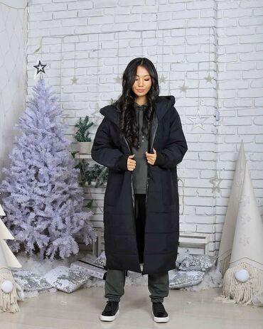"""бондаж для беременных в Кыргызстан: Куртки теплые! Зима! Модель оверсайз """"одеяло""""за счёт уникального кроя"""