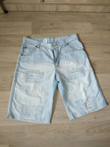 Muška odeća | Trstenik: Muški teksas šorts, u odličnom stanju. M veličina. Jako je udoban