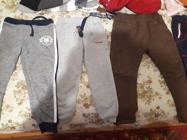 Теплые штаны для мальчиков 4-5-6 всё за 400
