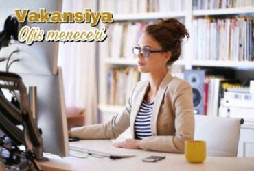 Bakı şəhərində Reklam meniceri teleb olunur emek haqqi 500 azn is qrafiki 10.00-18.00
