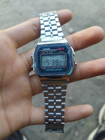 Наручные часы - Кок-Ой: Серебристые Мужские Наручные часы Casio