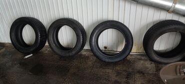 шипованные шины б у в Кыргызстан: Продаю шины зимние, Китай, б.у, 235/55R18, 4шт, наш адрес улица
