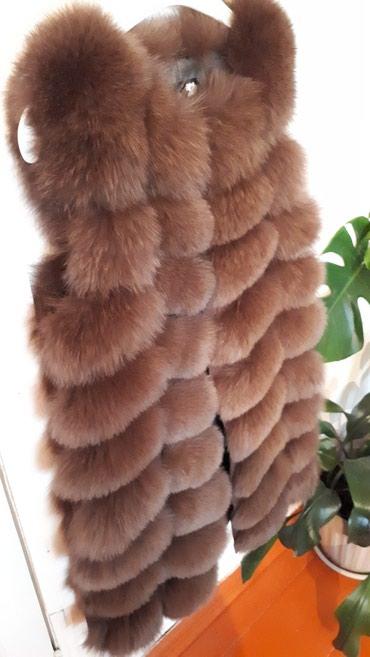 Срочно продаю новую мех.жилетку.цвет в Талас