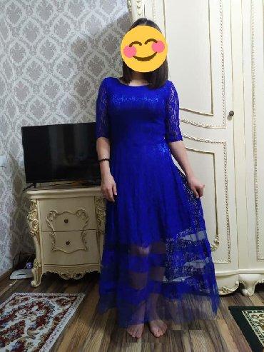 синее вечернее платье в Кыргызстан: Продаю интересное вечернее платье