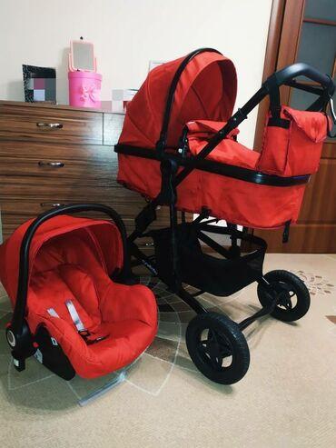 Продам Детскую коляску-трансформер cynebaby 3 в 1+сумка -