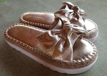 Natikače | Srbija: Papuce  obuvene na kratko kao nove