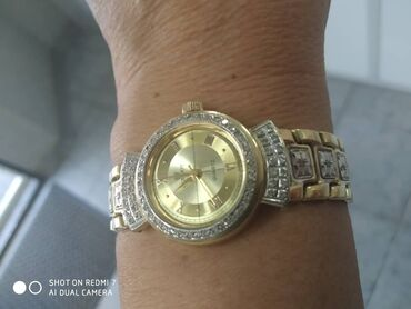 595 проба в Кыргызстан: !!! СРОЧНО !!! Продаю золотые часы с бриллиантами, браслет тоже с брил
