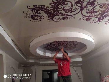 евро мебель бишкек в Кыргызстан: Евро ремот быстро качественно (натяжной потолок) Бишкек ичинде