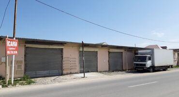 сдам гараж в Азербайджан: Xəzər rayonu Binə atciliq yasayis massivində 1000kvm 6 boksdan ibaret