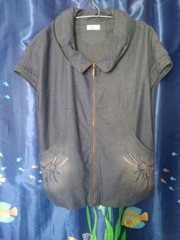 Жилетка из тонкой джинсовой ткани с в Бишкек