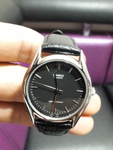 water resist 100m в Кыргызстан: Черные Унисекс Наручные часы Casio