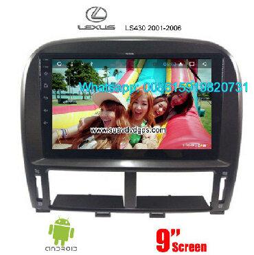 LEXUS LS430 Car audio radio android GPS navigation camera Model