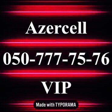 vip nomre - Azərbaycan: 050-777-75-76 Yeni VIP Azercell nomre