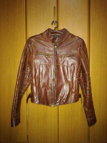 Italijanska jakna - Srbija: Kao nova. Ženska kožna jakna italijanske proizvodnje. Vel.M