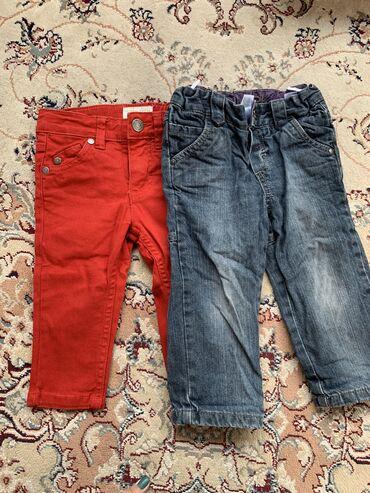 детские обувь в Кыргызстан: Суперские джинсы на 1-2 года. В отличном состоянии