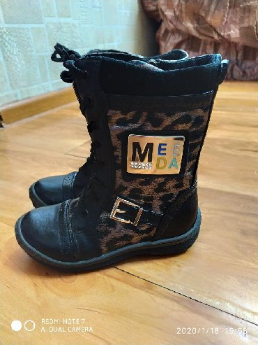 Детская обувь в Каракол: Новые сапожки деми.25-27размеры