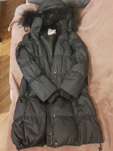 Jakna kapuljaca pravo - Srbija: Staff perjana jakna sa pravim krznom na kapuljaci vel. MPogledajte sve