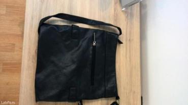 Italijanska-kozna-crna-jakna - Srbija: Crna kozna torba