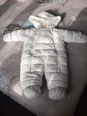 Детский зимний комбинезон. 1раз одели) почти новый, теплый и