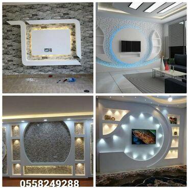 - Azərbaycan: Malyar ustaları | Dartma tavan, Asma tavan, Boya, emulsiya vurulması
