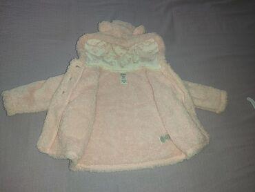 Dečije jakne i kaputi | Indija: Prodajem Carter's jaknu za bebe devojčice, roze boja, vel. 12 mes
