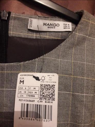 dublenka mango в Кыргызстан: Платье Деловое Mango M