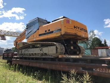 Продам экскаватор гусеничный Hyundai 360 вес 36 тонн объем ковша 1.7