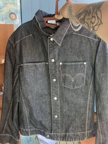 Оригинальная джинсовка LEVIS. Состояние 11/10. Застежки на пуговицах