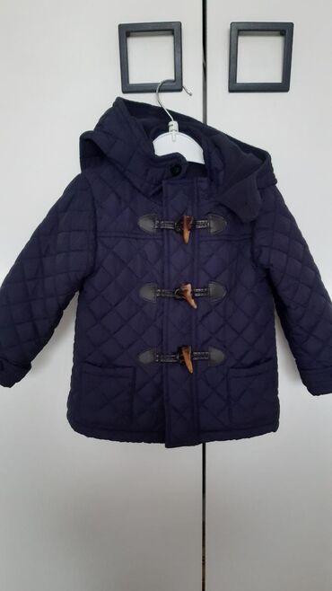 Nova Koton jakna za dečake,teget boje.Veličina 9-12m
