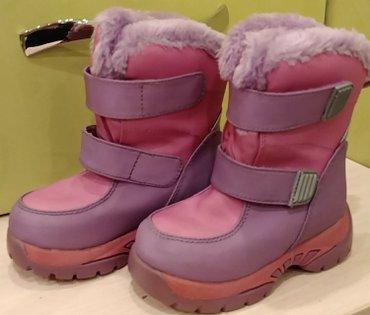 Продам зимние сапожки новые, из штатов, размер 8 (24) в Бишкек