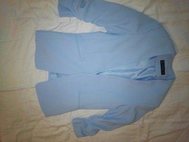 Продаю пиджак-блейзер нежно голубого цвета турецкий. размер 46. в Сокулук