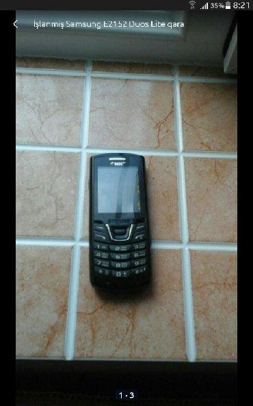 Samsung b7300 omnia lite - Azerbejdžan: Upotrebljen Samsung E2152 Duos Lite crno