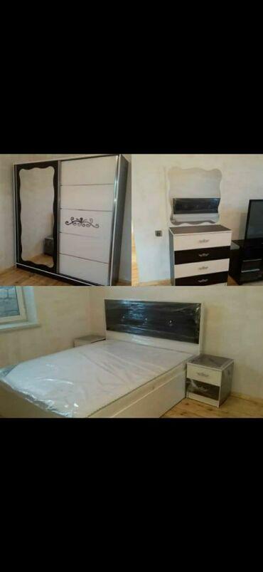 гарнитур для спальни в Азербайджан: Yataq desdi indi ŞOKKKK ŞOKKK ENDIRIM 690